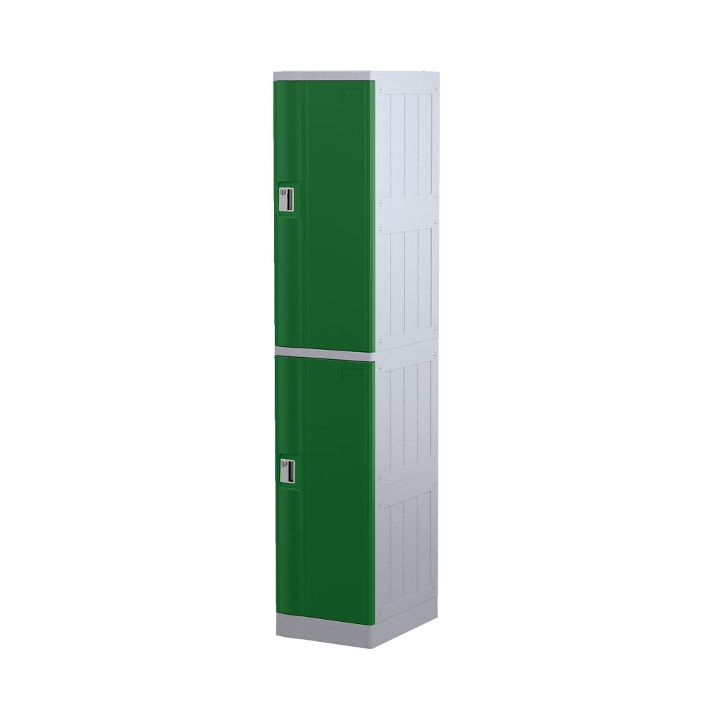 abs-locker-twotier-green