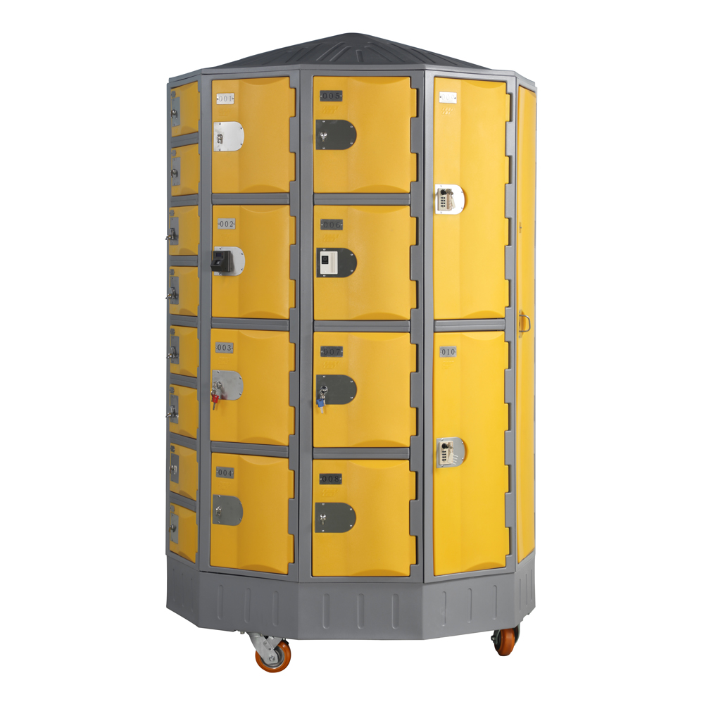 Carousel-locker-yellow